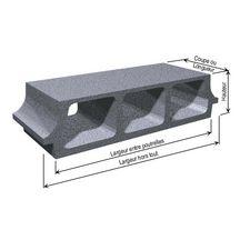 entrevous b ton poutrelle pr contrainte 530x200x80 mm. Black Bedroom Furniture Sets. Home Design Ideas
