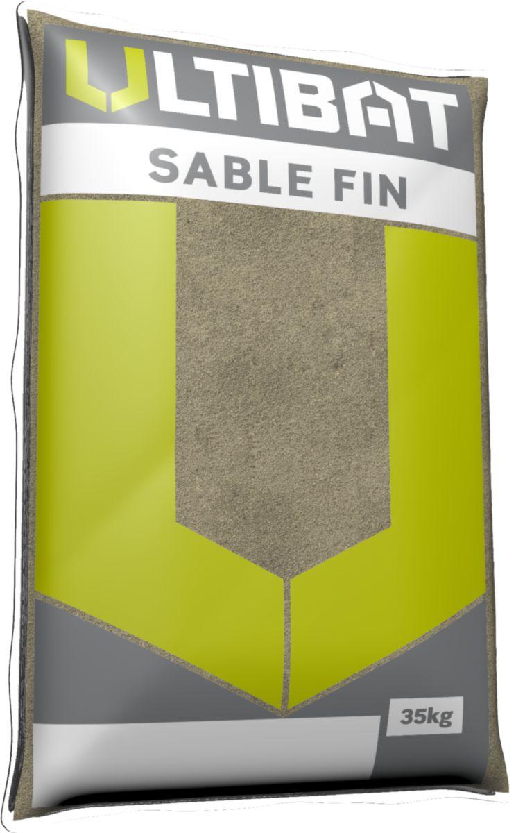 Sable Fin Vert à Maçonner 0 1 Ultibat Sac 35 Kg