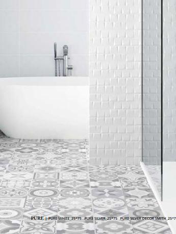 Peronda Ceramica Carrelage Sol Interieur Gres Cerame Emaille Ground Decor Mila Cold Antiderapant 60x60 Cm Point P
