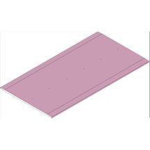 plaque de pl tre lisaflam hd ba 13 2 5x1 2 m p 13 mm placo pl tre isolation ite. Black Bedroom Furniture Sets. Home Design Ideas