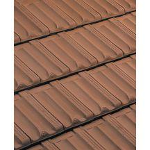 Tuile douille marseille terre cuite brun 126 mm for Dimension des tuiles