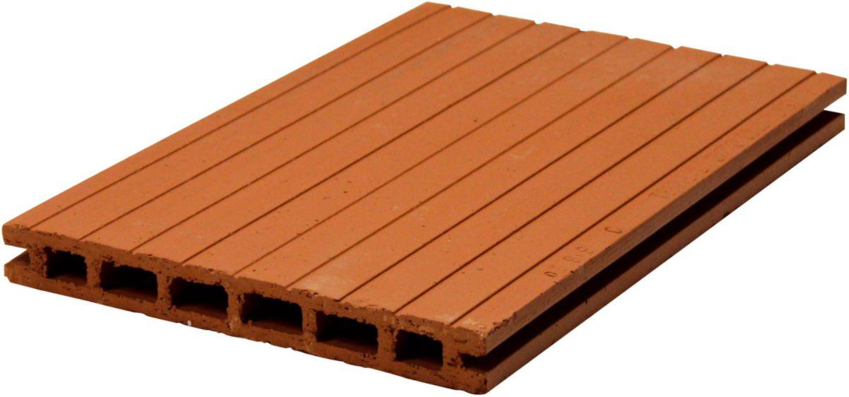 Brique Plafonnette M Le Femelle Plf11 2 5x20x40cm Terreal  # Cheville Pour Brique Platriere