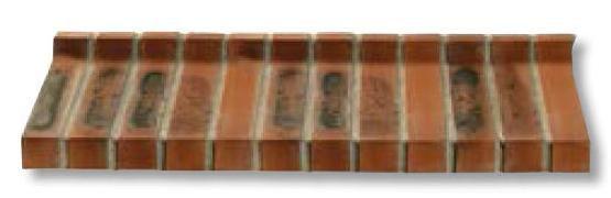 Terca Brique Pour Appui De Fenêtre Pentabric 35 Lisse Flammée