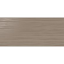 Faïence Cinca Bel Air Beverly taupe semi-mat décor 25,2x55,4cm 4084
