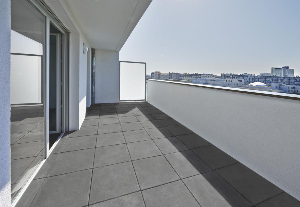 marlux alkern dalle lisse hera 50x50x4cm t7 unie grise. Black Bedroom Furniture Sets. Home Design Ideas
