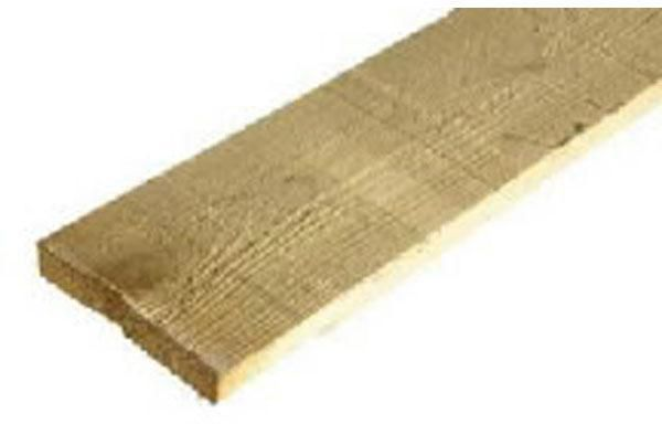 planche coffrage sapin/épicéa non traité l. 4 m ép. 27 mm toutes