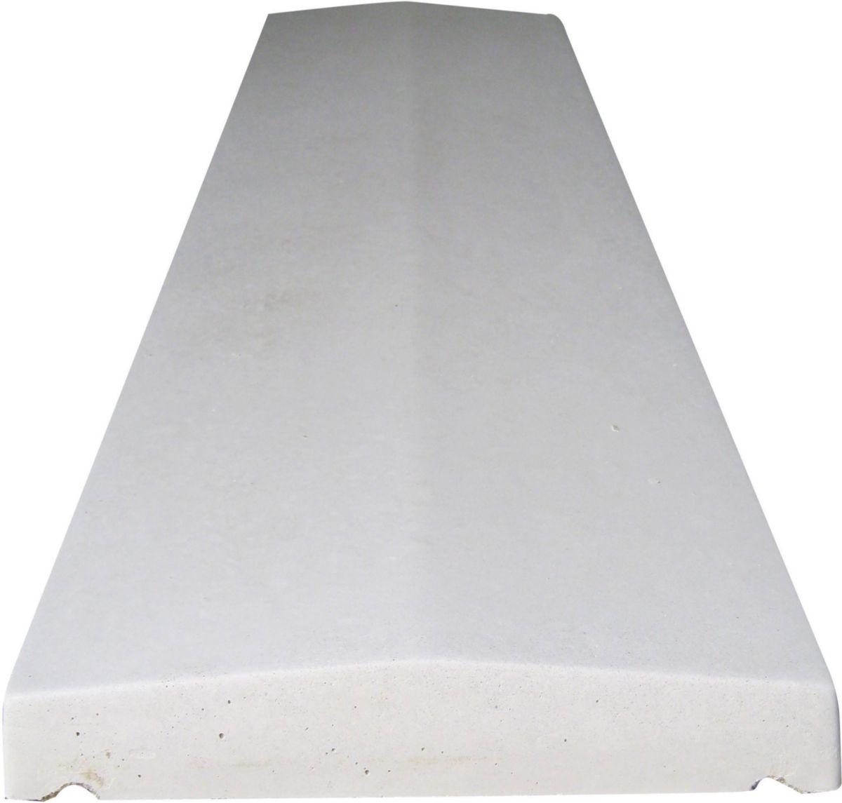 Couvertine Plate Pour Mur Béton 1x0 2 M Opl Décoration