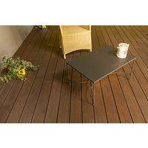 lame de terrasse atmosph re brun sao paulo bross e 23x138x4000mm silvadec d coration. Black Bedroom Furniture Sets. Home Design Ideas