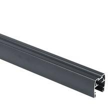 lisse haute claustra aluminium thermolaqu gris anthracite sabl l 1 736 m 38x40 cm. Black Bedroom Furniture Sets. Home Design Ideas