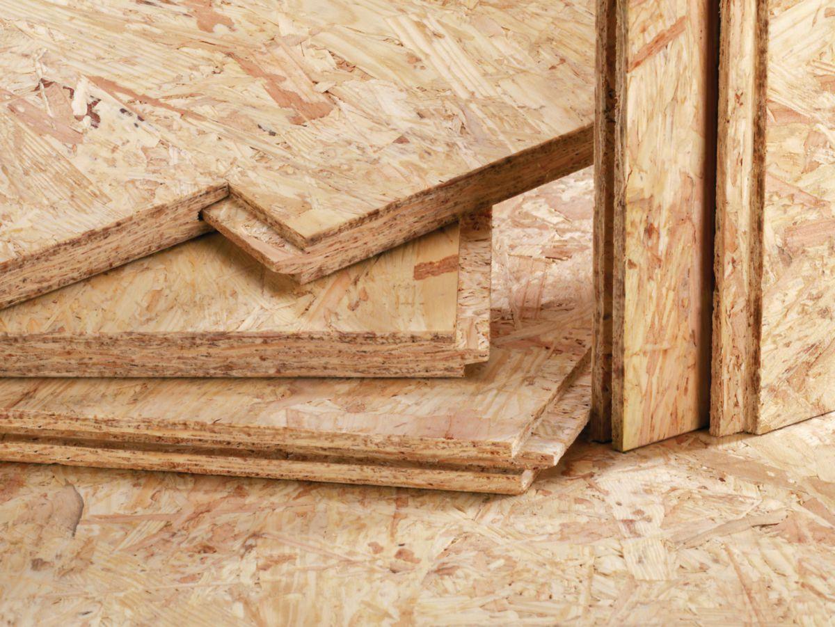 15mm OSB//3 Panneau de particules orient/ées 1000 x 1100 mm r/ésistant /à l/'humidit/é sur la norme EN 300 Panneaux dOSB pour application agencement d/écoration ou constructions bois Logueurs jusqu/à 2000mm