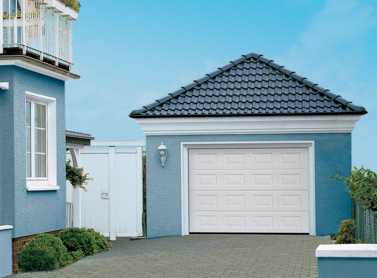 Tubauto distribution sas porte de garage sectionnelle europro pr mont e double paroi 42 20 m h - Porte de garage sectionnelle tubauto ...