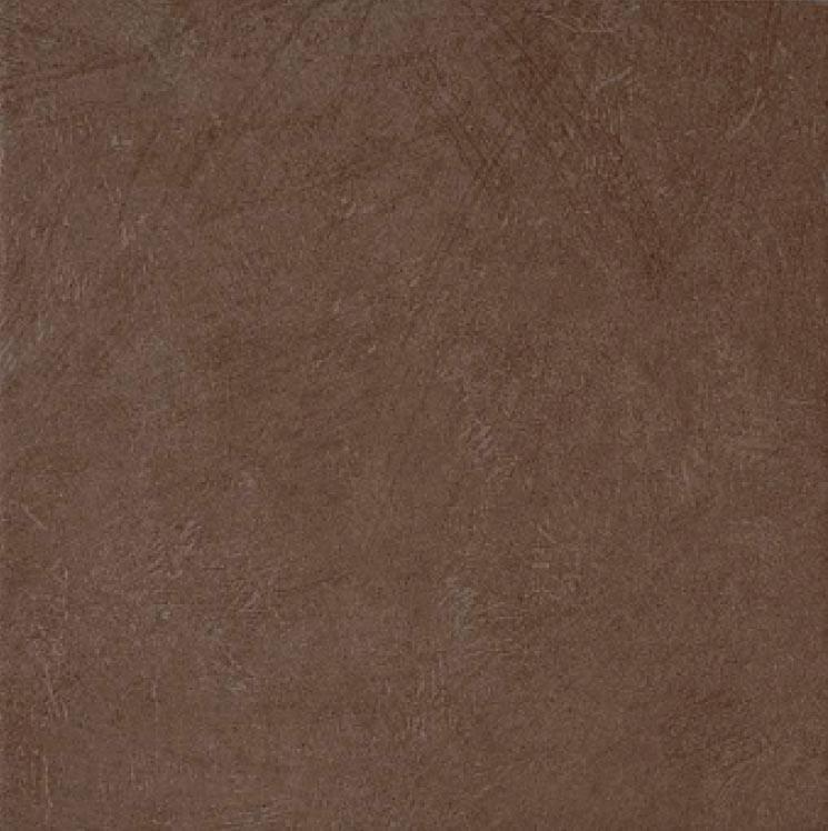 carrelage sol intérieur romana marron naturel arte one - 45x45 cm