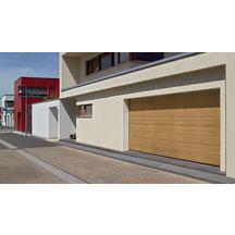 Porte Sectionnelle Harmonic Double Paroi Acier Lxh Woodgrain - Porte sectionnelle tubauto