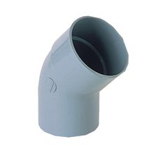 Coude simple MF 45° PVC gris Nicoll - Ø 250 mm
