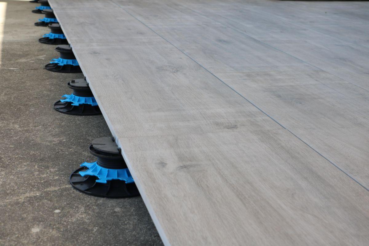 Plot Réglable Pour Dalle De Terrasse Polypropylène H 50 80 Mm