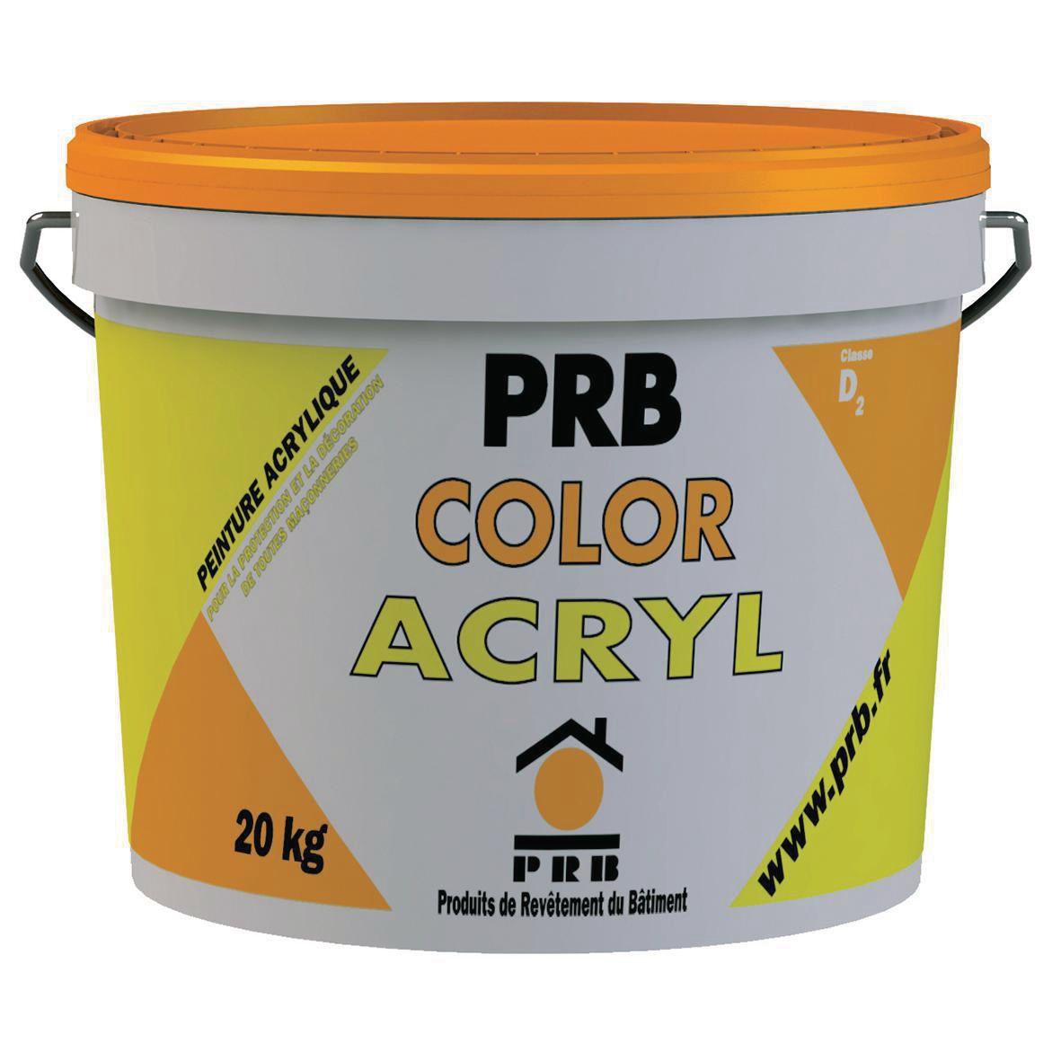 Peinture Acrylique Pour Fa Ade Color Acryl Pastel Seau De 20 Kg