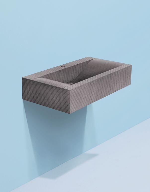 Meuble vasque wedi Sanbath Wave - 1000x550x200 mm