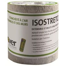 Adhésif extensible Isostretch - simple face - rouleau de 10 m x 15 cm