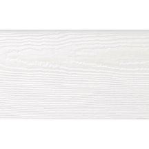 Bardage clin HardiePlank Cedar JH10-20 Blanc Artique 8x180x3600mm (largeur brute 180mm)