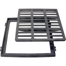 Grille plate carrée C250 SFG 40 - 400x400 mm