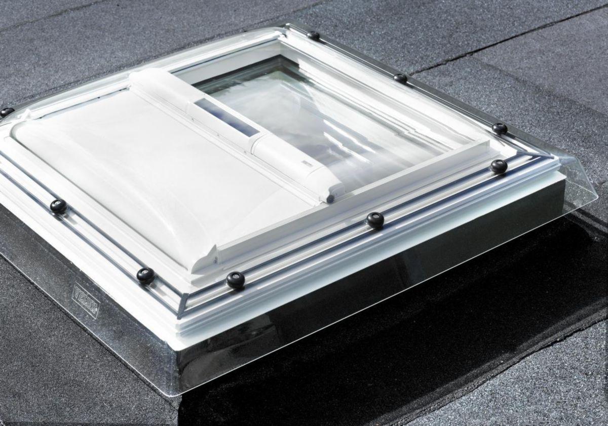 Velux Fenêtre Fixe Pour Toit Plat Cfp 0073q 90x90 Cm Pointp
