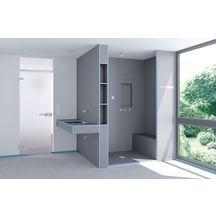 panneaux de construction wedi. Black Bedroom Furniture Sets. Home Design Ideas