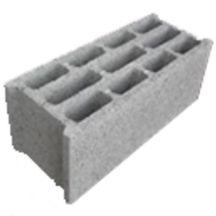Bloc b ton creux b60 3 lames 500x200x200 mm ultibat gros oeuvre bpe voirie tp - Bloc beton creux ...