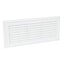 Grille a�ration rectangulaire d�montable blanc Nicoll - 152x358 mm