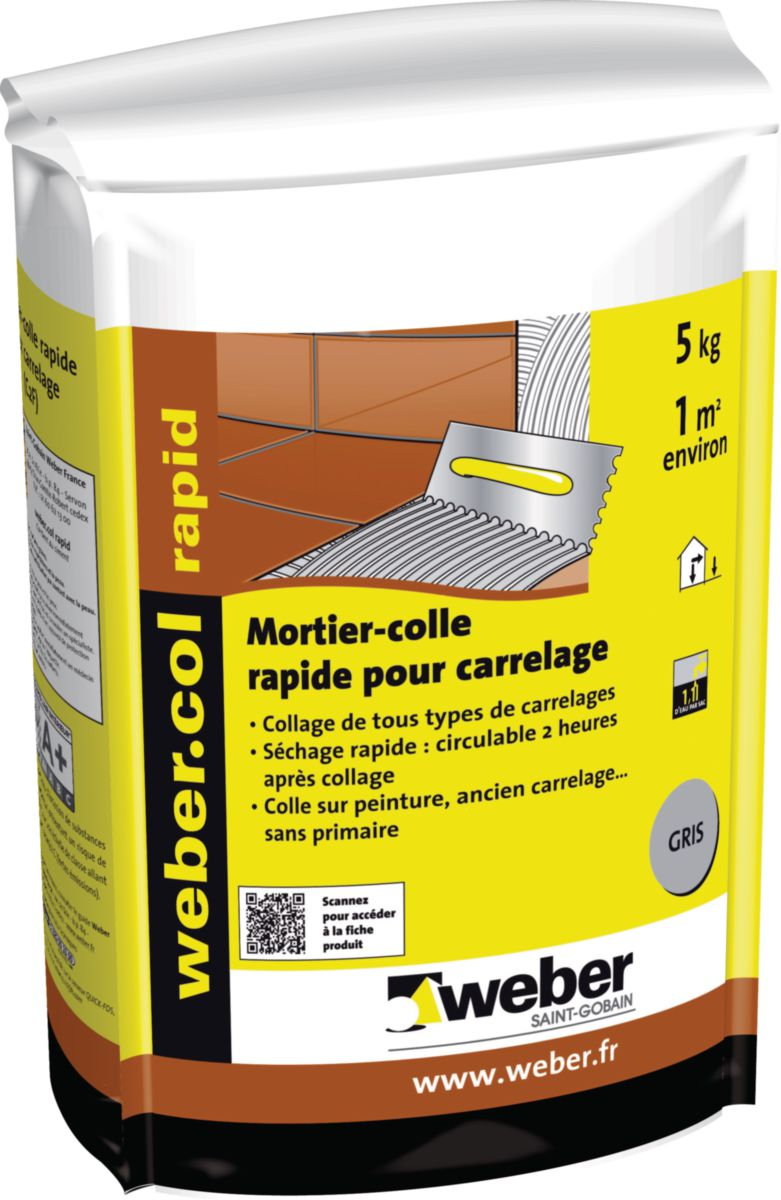 Carrelage rapide tendance d co tuiles c ramiques for Pose de carrelage sans colle