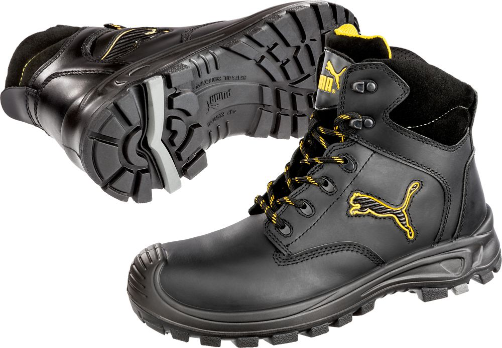 Chaussures De Scuff 43 Borneo Hro Black Mid S3 630411 Haute SécuritéPuma Taille XZPiuTOklw