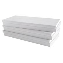 panneau polystyr ne extrud polyfaom d 350 lj knauf insulation 100 1 25x0 6 m r 3 45 m k w. Black Bedroom Furniture Sets. Home Design Ideas