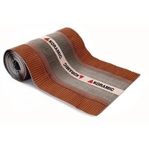 Closoir de ventilation Flexirol - rouge - rouleau de 240 mm x 50 m