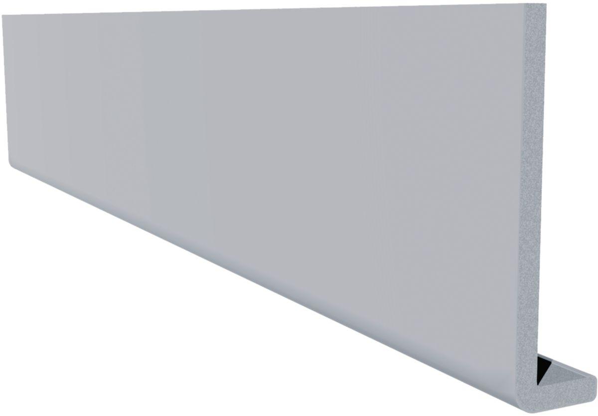 Freefoam Plastics Planche De Rive Arrondi Classique Pvc Blanc
