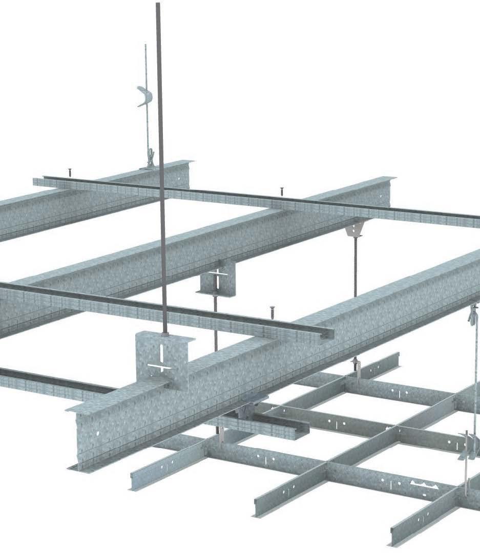 Profile Longue Portee Pour Ossature Primaire De Plafond Chicago Metallic