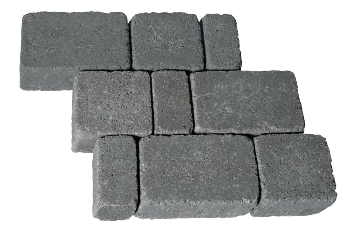 arte home pav multiformat emilien gris granit 12x6x6. Black Bedroom Furniture Sets. Home Design Ideas