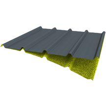 bacs acier toitures m talliques plaques de toiture. Black Bedroom Furniture Sets. Home Design Ideas