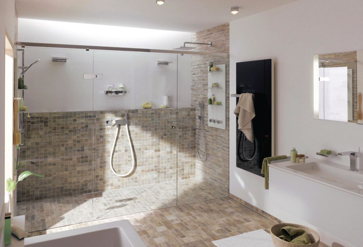 Carrelage mural imitation bois fashion designs for Carrelage gedimat salle de bain