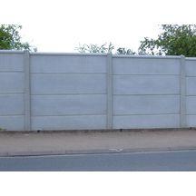 Poteau b ton standard feuillure totale pour cl ture - Poteau beton 12x12 ...