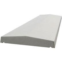 dessus de mur all g 2 pentes b ton gris 100x25x4 5 cm maubois d coration ext rieure. Black Bedroom Furniture Sets. Home Design Ideas