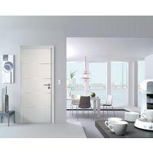 Blocporte Huisserie Pose Fin De Chantier GriffInox Laqué Blanc - Porte laquée blanc