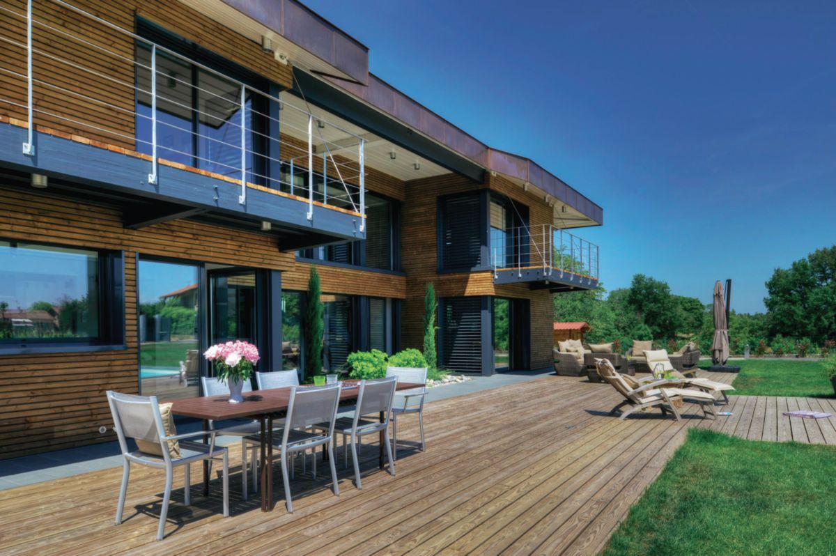 monnet seve lame terrasse douglas monnet seve 28x145 mm. Black Bedroom Furniture Sets. Home Design Ideas
