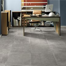 Carrelage sol int�rieur gr�s c�rame �maill� Petra grey naturel - 60x60 cm