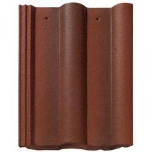 Tuile b ton double romane monier badiane 420x330 mm for Tuile beton redland prix