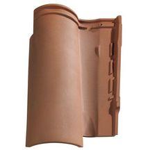 Tuile terre cuite gall ane 10 monier terre d 39 ocres 473x317 mm monier couverture for Distributeur tuiles monier