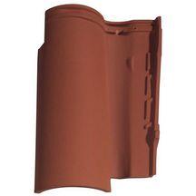 Tuile terre cuite gall ane 10 monier rouge syrah 473x317 mm monier couverture for Distributeur tuiles monier