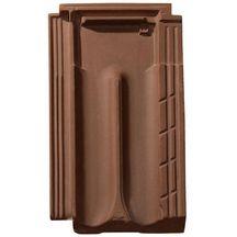 Tuile terre cuite marseille monier brun rustique 435x255 mm monier toiture charpente for Distributeur tuiles monier