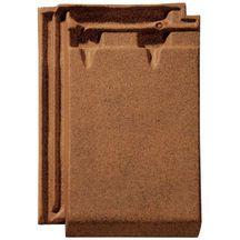 Tuile terre cuite r gence monier brun vieilli nouveau 328x226 mm monier toiture charpente for Distributeur tuiles monier