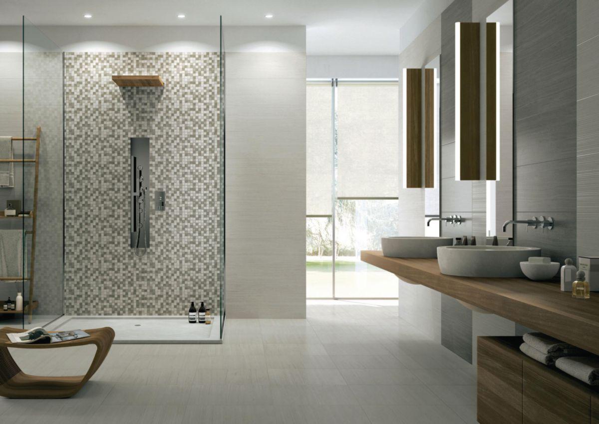 Mosaique salle de bain pas cher for Carrelage couleur