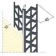 corni re d 39 angle upsilon 37410 avec jonc fin pvc l 3. Black Bedroom Furniture Sets. Home Design Ideas