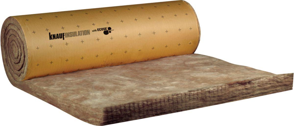 knauf insulation laine de verre roul e rev tue kraft. Black Bedroom Furniture Sets. Home Design Ideas
